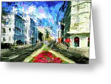 Vienna Austria Greeting Card