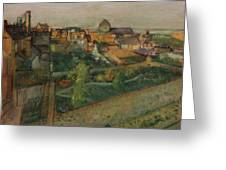 View Of Saint Valery Sur Somme  Greeting Card