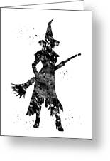 Wicked Witch Greeting Card