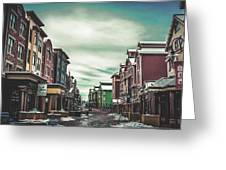 Winter Morning - Park City, Utah Greeting Card