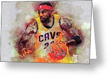 Lebron Raymone James Greeting Card