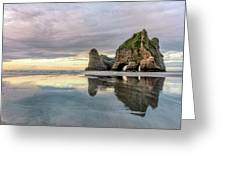 Wharariki Beach - New Zealand Greeting Card
