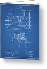 1885 Grist Mill Patent Greeting Card