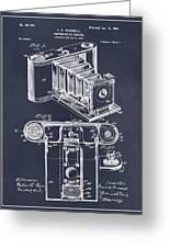 1899 Photographic Camera Patent Print Blackboard Greeting Card