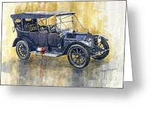 1913 Cadillac Four 30 Touring Greeting Card