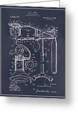 1919 Anesthetic Machine Blackboard Patent Print Greeting Card