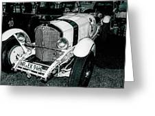 1920's Mercedes Benz Convertible Greeting Card