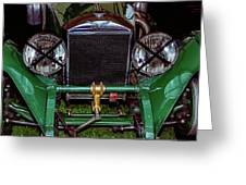 1930's Invicta Roadster In Colour Greeting Card