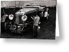 1930's Aston Martin Convertible Greeting Card