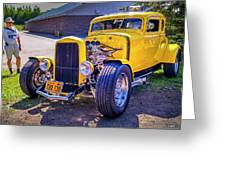 1931 Ford Model A 5 Window Coupe Greeting Card