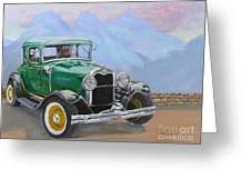 1932 Ford Model A  Greeting Card