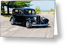 1933 Buick 50 Series Greeting Card