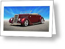 1935 Ford Roadster Greeting Card