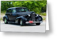 1937 Oldsmobile F 37 Greeting Card