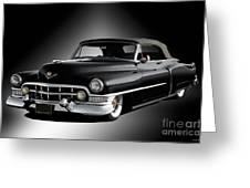 1951 Cadillac Series 62 Convertible Greeting Card