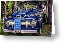 1951 Mercury Pickup Truck Greeting Card