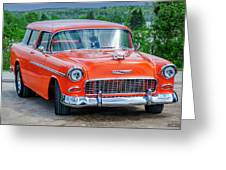 1955 Chevrolet Bel Air Nomad Greeting Card