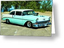 1956 Chevrolet Custom Model 2010  Greeting Card
