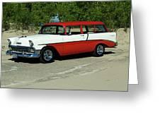 1956 Chevrolet Handyman Station Wagon  Greeting Card