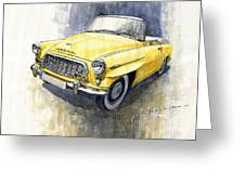 1957-1959 Skoda 450 Cabrio  Greeting Card