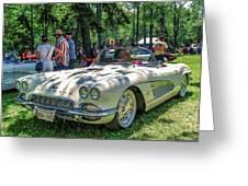 1961 Chevrolet Corvette 002 Greeting Card