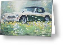 1967 Austin Healey 3000 Mk I I I B J 8 Greeting Card