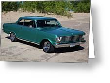 1963 Chevrolet Nova Ss Greeting Card