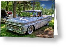 1966 Chevrolet C10 Pickup Truck Greeting Card