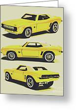 1969 Camaro Greeting Card