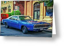 1970 Dodge Charger R/t Greeting Card