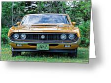 1970 Ford Torino Gt Greeting Card