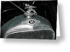 1928 Bentley 4 1/2 Litre Parkward Saloon Greeting Card
