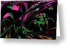 Abstract 1001 Greeting Card by Gerlinde Keating - Galleria GK Keating Associates Inc