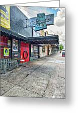 Austin Continental Club  Greeting Card