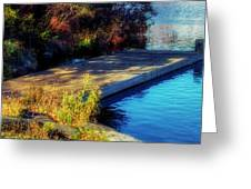 Autumn Colors In Kearney Lake Greeting Card
