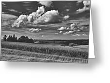 Beautiful Iowa Farm Scene Greeting Card