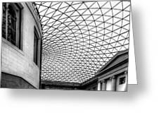 British Museum Greeting Card by Adrian Evans