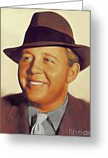 Charles Laughton, Vintage Actor Greeting Card