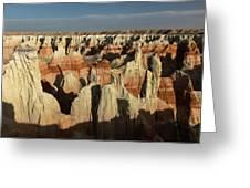Coal Mine Canyon Near Tuba City Greeting Card