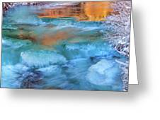 Color Of Winter Greeting Card