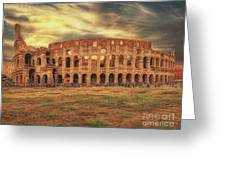 Colosseo, Rome Greeting Card