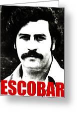 Escobar Greeting Card