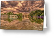 Further Down The River Greeting Card