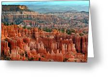 Hoodoo's Bryce Canyon  Greeting Card