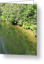 Narrow Cut On The Trent Severn Waterway Greeting Card