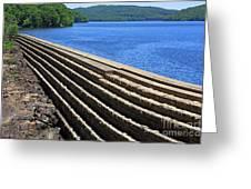 New Croton Dam At Croton On Hudson New York Greeting Card