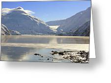 Portage Lake Alaska Greeting Card