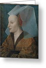 Portrait Of A Noblewoman Greeting Card