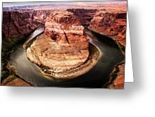 River Bend Greeting Card by Scott Kemper