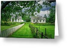 Sherbrooke Village Greeting Card